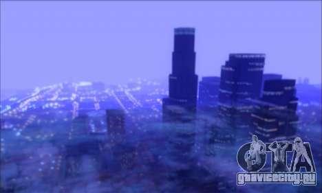 FF TG ICY ENB V1.0 для GTA San Andreas второй скриншот