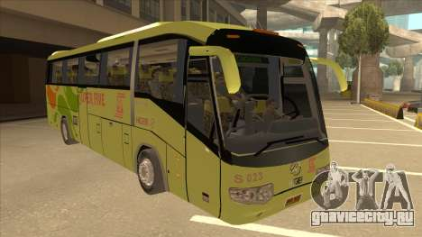 Higer KLQ6129QE - Super Five Transport S 023 для GTA San Andreas вид слева