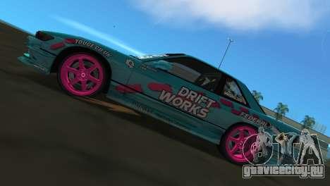 Nissan Silvia S13 Drift Works для GTA Vice City вид справа