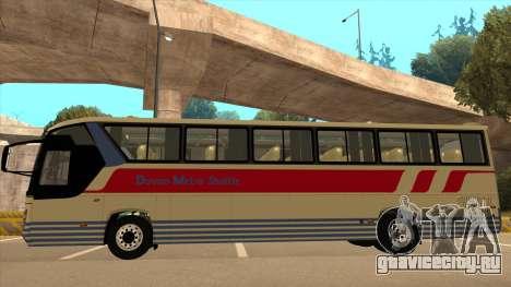 Davao Metro Shuttle 296 для GTA San Andreas вид сзади слева