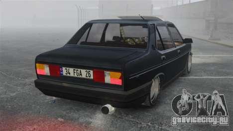 Fiat 131 для GTA 4 вид сзади слева