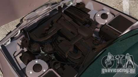 BMW 535 E34 Touring для GTA 4 вид изнутри