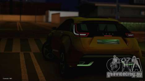 Lada X-Ray для GTA San Andreas вид сбоку