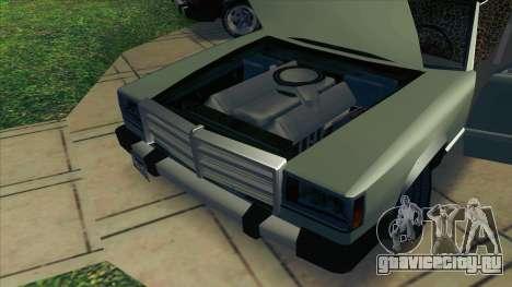 Feltzer C107 coupe для GTA San Andreas вид сзади