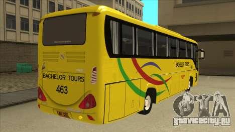 Kinglong XMQ6126Y - Bachelor Tours 463 для GTA San Andreas вид справа