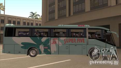 Higer KLQ6129QE - Super Fice Transport S 020 для GTA San Andreas вид сзади слева