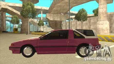 Nissan EXA L.A. Version для GTA San Andreas двигатель