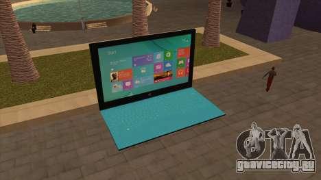 Гигантский Surface 2 из Лондона для GTA San Andreas третий скриншот