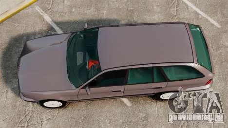 BMW 535 E34 Touring для GTA 4 вид справа