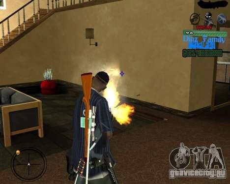 C-Hud for SA:MP для GTA San Andreas третий скриншот