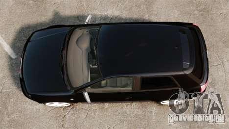 Audi S3 2001 для GTA 4 вид справа