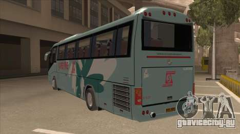 Higer KLQ6129QE - Super Fice Transport S 020 для GTA San Andreas вид сзади