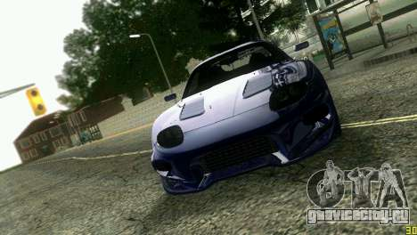Mitsubishi FTO для GTA Vice City вид сбоку