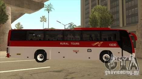 Rural Tours 10030 для GTA San Andreas вид сзади слева