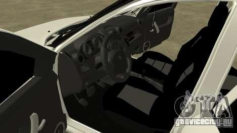 Лада Гранта для GTA San Andreas вид изнутри