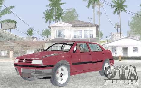 Volkswagen Vento для GTA San Andreas вид изнутри