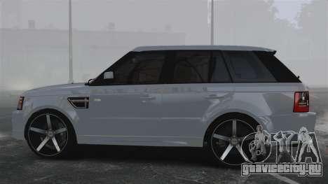 Range Rover Sport Autobiography 2013 Vossen для GTA 4 вид слева