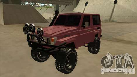 Toyota Machito Fj70 2009 V2 для GTA San Andreas