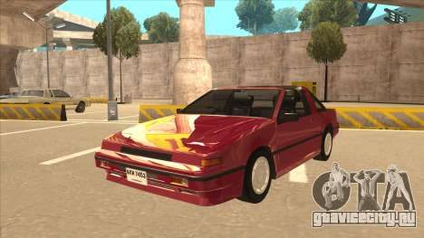 Nissan EXA L.A. Version для GTA San Andreas