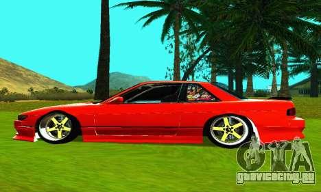 Nissan Silvia S13 HellaDrift для GTA San Andreas вид слева