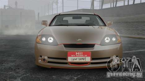 Hyundai Tiburon для GTA 4