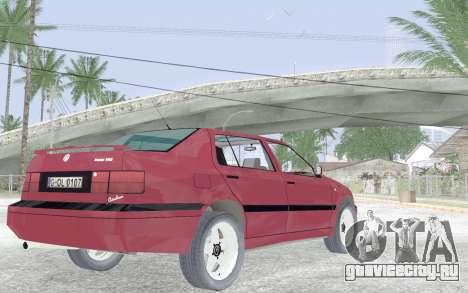 Volkswagen Vento для GTA San Andreas вид справа