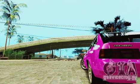 АЗЛК 2141 Black Tuning для GTA San Andreas вид сбоку