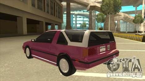 Nissan EXA L.A. Version для GTA San Andreas колёса