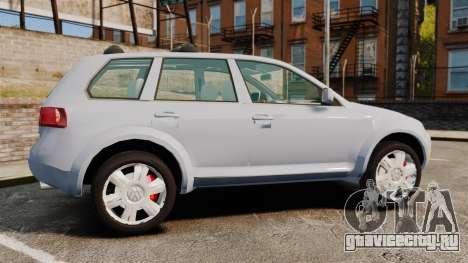 Volkswagen Touareg 2002 для GTA 4 вид слева