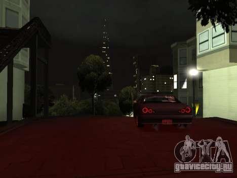 Elegy Skyline для GTA San Andreas вид справа