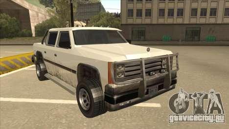 Declasse Rancher FXT для GTA San Andreas вид слева