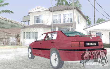 Volkswagen Vento для GTA San Andreas вид сзади слева