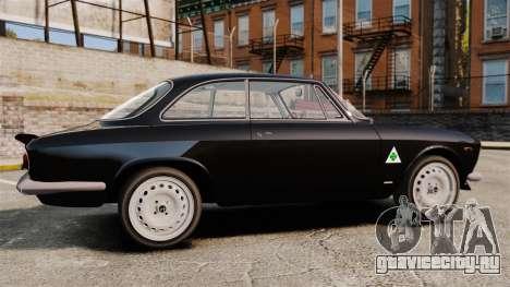Alfa Romeo Giulia 1965 Sprint GTA Stradale для GTA 4 вид слева