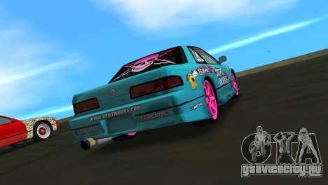 Nissan Silvia S13 Drift Works для GTA Vice City вид слева