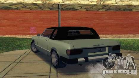 Feltzer C107 coupe для GTA San Andreas вид сзади слева