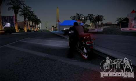 Ducati FCR900 2013 для GTA San Andreas вид сзади слева