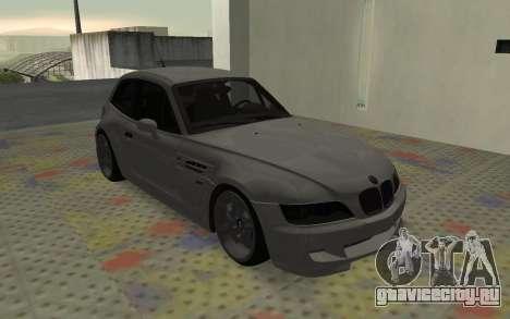 BMW Z3 M Power 2002 для GTA San Andreas вид слева
