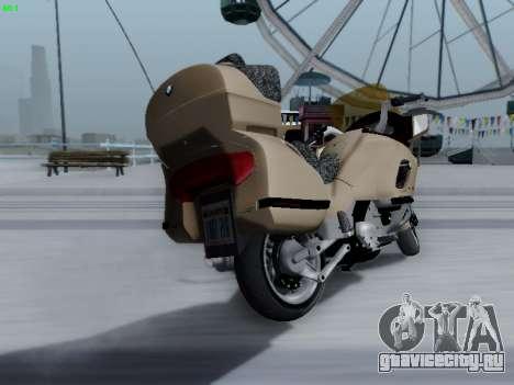 BMW K1200LT для GTA San Andreas вид сзади