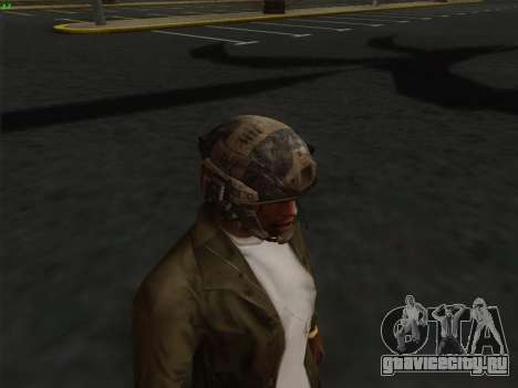 Шлем из Call of Duty MW3 для GTA San Andreas четвёртый скриншот