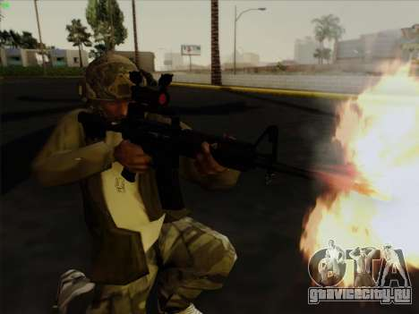 Шлем из Call of Duty MW3 для GTA San Andreas