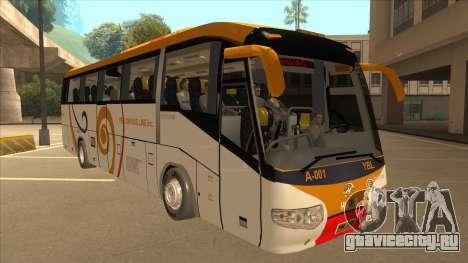 Higer KLQ6129QE - Yellow Bus Line A-001 для GTA San Andreas вид слева