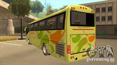Higer KLQ6129QE - Super Five Transport S 023 для GTA San Andreas вид сзади