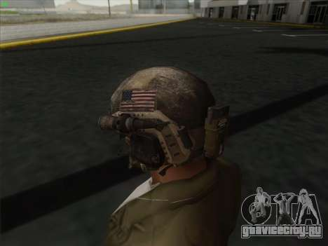 Шлем из Call of Duty MW3 для GTA San Andreas третий скриншот