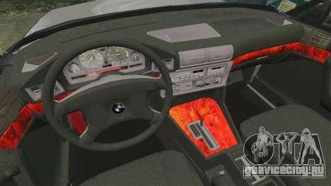 BMW 535 E34 Touring для GTA 4 вид сбоку