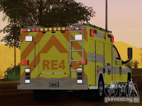 GMC C4500 Topkick BCFD Rescue 4 для GTA San Andreas