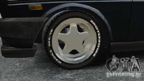 Fiat 131 для GTA 4 вид сзади