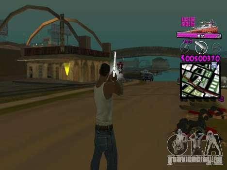 C-HUD by Kerro Diaz [ Ballas ] для GTA San Andreas второй скриншот