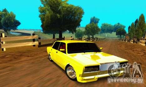 ВАЗ 2107 VIP для GTA San Andreas