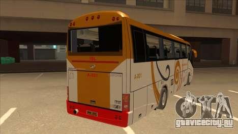 Higer KLQ6129QE - Yellow Bus Line A-001 для GTA San Andreas вид справа