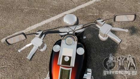 Harley-Davidson для GTA 4 вид справа